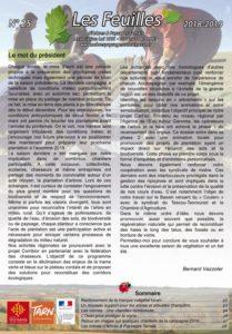 Journal Les Feuilles d'Arbres & Paysages Tarnais